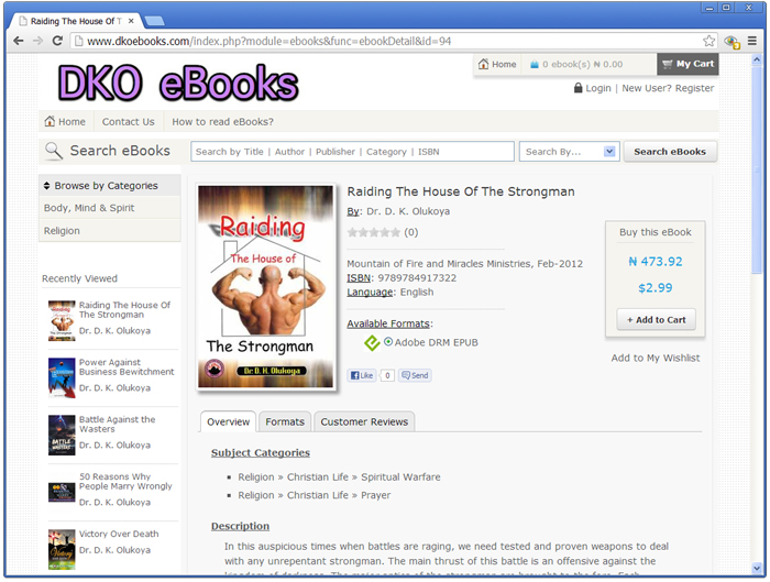 Donwload ebook on adobe digital edition dko ebookstore ebook details page opened let us see what it says it shows us ebook cover page as thumbnail ebook details like author name publisher name fandeluxe Choice Image
